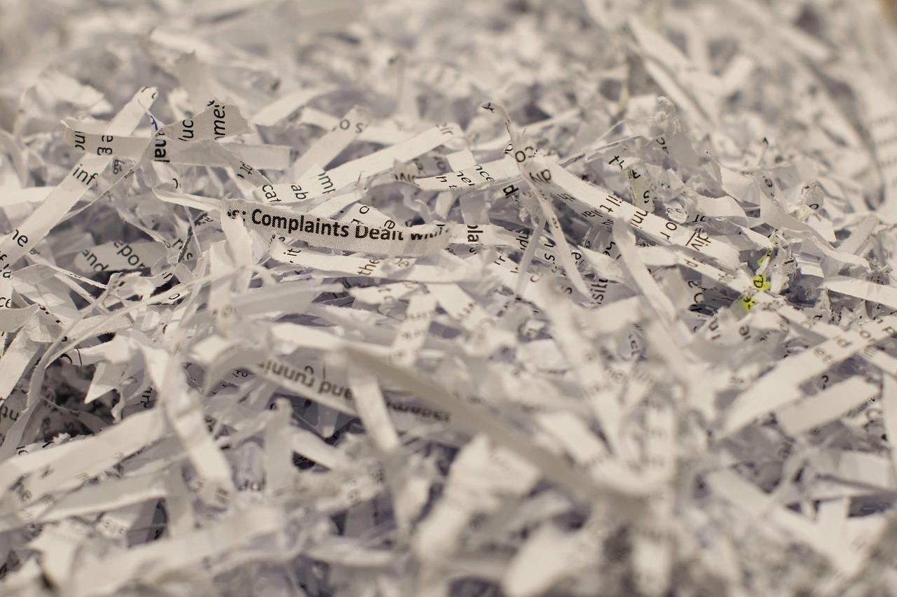 6 façons de détruire vos documents professionnels