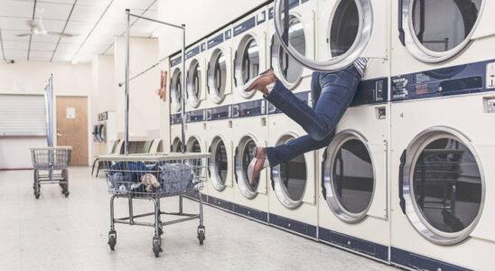 machine à laver industrielle